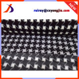 2017 Newly Developed Black and White 2 Color Jacquard Fabric