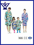 Hote Sale Camouflage PVC Raincoat for Adults and Kids (SYSG-294)