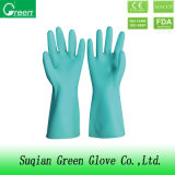 Green Cheap PVC Houshold Gloves