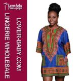 Sexy Short Women Dashiki Dress (L28068-8)