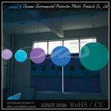 Decorative RGB Glowing Globe LED Hanging Plastic Balls