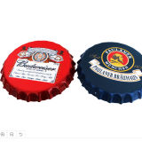 Tinplate Beer Bottle Cover Shaped Wall Decoration