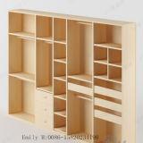 Good Quality Melamine MDF Bedroom Wardrobe (ZHUV factory)