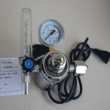High Pressure Gas Regulator Carbon Dioxide and Argon Gas Decompressor with Gauge