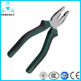 PVC Handle Combination Pliers with Side Cutting Jaws