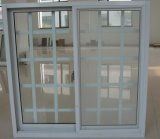 Cheap Aluminum Sliding Winow with Steel Security Bars