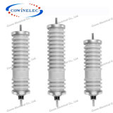 High Voltage porcelain Lightning Arrester / Surge Arrestor