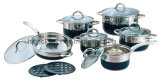 12PCS Stainless Steel Cookware Set, Kitchen Appliances