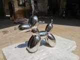 Metal Upholstery Stainless Steel Mirror Abstract Sculpture Sketch