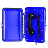 Industrial VoIP Blue Tunnel Emergency Phone with Blue Light
