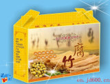 Portable Corrugated Box for Food, Fruit Package