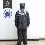 Police PVC Full Length Rain Coat
