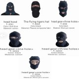 Police Equipment Black Hear Gear for Military