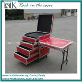 Rk Wholesale Aluminum Rack Drawer Storage Case with Casters