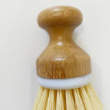 Economical Kitchen Cleaning Hand Tool Furniture Bamboo Reuseable Dish Brush