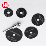 7PCS HSS Rotary Tools Drill Mandrel Mini Circular Saw Blades Cutting Discs Set