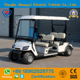 Electric 4 Passenger Golf Cart Sightseeing Car Shuttle Bus Cheap Electric Vehicle for Sale Support Customization