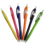 High Quality Plastic Advertising Pen with Multi Colors