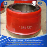 Gray Iron Volvo Brake Drum 1584132 for BPW Hino
