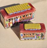 Cable Car Shape Cookies Tin Boxes