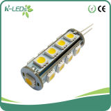 17SMD5050 AC/DC12-24V Warm White G4 LED