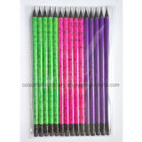 Hotsale Stationery Wood Pencil with Eraser