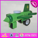 Hot New Product for 2015 Kids Flying Toy Plane, Funny Children Toy Wooden Toy Plane, Top Quality Cheap Miniature Toy Plane W04A089