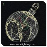 Giant LED Christmas Ball Shape Light for Street Decoration