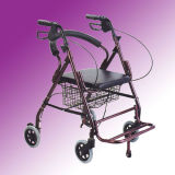 Medical Supplies Walking Aid with Big Basket for Older (ME316)