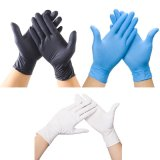 Nitrile Gloves Nitrile Nitrile Gloves Wholesale Blue Powder Free Non-Medical Nitrile Gloves with High Quality Disposable Nitrile Gloves