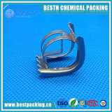 SS304 SS316 SS316L Stainless Steel Metal Intalox Saddle Ring for Distillation Column