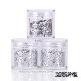 Glitter Multicolor Aluminum Flakes Magic Mirror Effect Nail Art Sequins Powder Gel Polish Tips Manicure Decoration