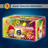 Cake Fireworks/Firecrackers Gd7068 Color Smoke Thunder 100shots