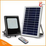 Outdoor Lighting 15W 120 PCS LED Solar Sensor Panel Flood Light Remote Control