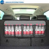 Durable Large Capacity Multi Mesh Pocket Car Trunk Hanging Back Seat Organizer
