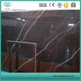 Nero Marquina/Black White/Black Marble/Black Marble for Tiles/Slabs/Flooring/Wall