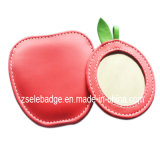 Pink Fashion Leather Case Mirror (ele-M001)