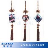 Sublimation Heat Transfer Blank Decoration Crystal Pendant/Ornament