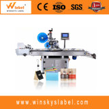 Full Auto Top Surface Stickers Labeling Machine for Flat Pouch Apparel Price Tag
