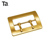 50 mm Fashion Metal Double Pin Belt Buckle Bag Accessory