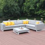 Outdoor Aluminium Fabric Sectional Sofa Garden Furniture