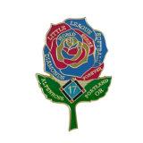 Factory Export Price Flower Shape Custom Logo Metal Lapel Pin Badge