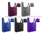 High Quality Washable Eco Friendly Reusable Tote Foldable Shopping Bag Polyester