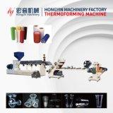 Plastic PP/PS/HIPS/PLA/Pet Sheet Extrusion Production Line (HY-670)