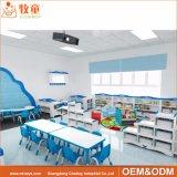 Guangzhou Factory Kindergarten Wood Material Kids Storage Furniture Price