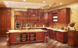 Hot-Sales Modern Glossy Solid Wood Kitchen Cabinets (zs-296)