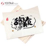 Cheap Oil-Proof Flat Bottom White Cardboard Paper Bakery Bread Packaging Bag