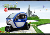 Smart Electric 3 Wheel Mini Car 300kg Max. Loading 36t Hydraulic Front Fork