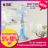 16 Inch Silver Stand Water Mist Spray Fan with Ce Certificate (MF-40-S001)