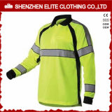 2017 New Design Best Price High Visibility Safety Polo Shirts (ELTSPSI-15)